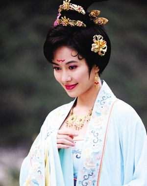 虢國夫人——唐玄宗寵妃楊貴妃的姐姐虢國夫人