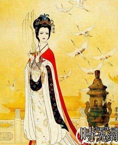 文成公主畫像