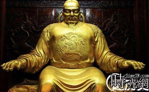 唐玄宗雕塑