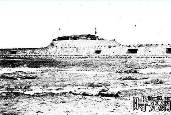 (老照片)鴉片戰爭時期英法聯軍入侵中國實景